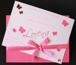 Convite JANELA -16 x 22 Acetato Pink Branco [JA 0010]